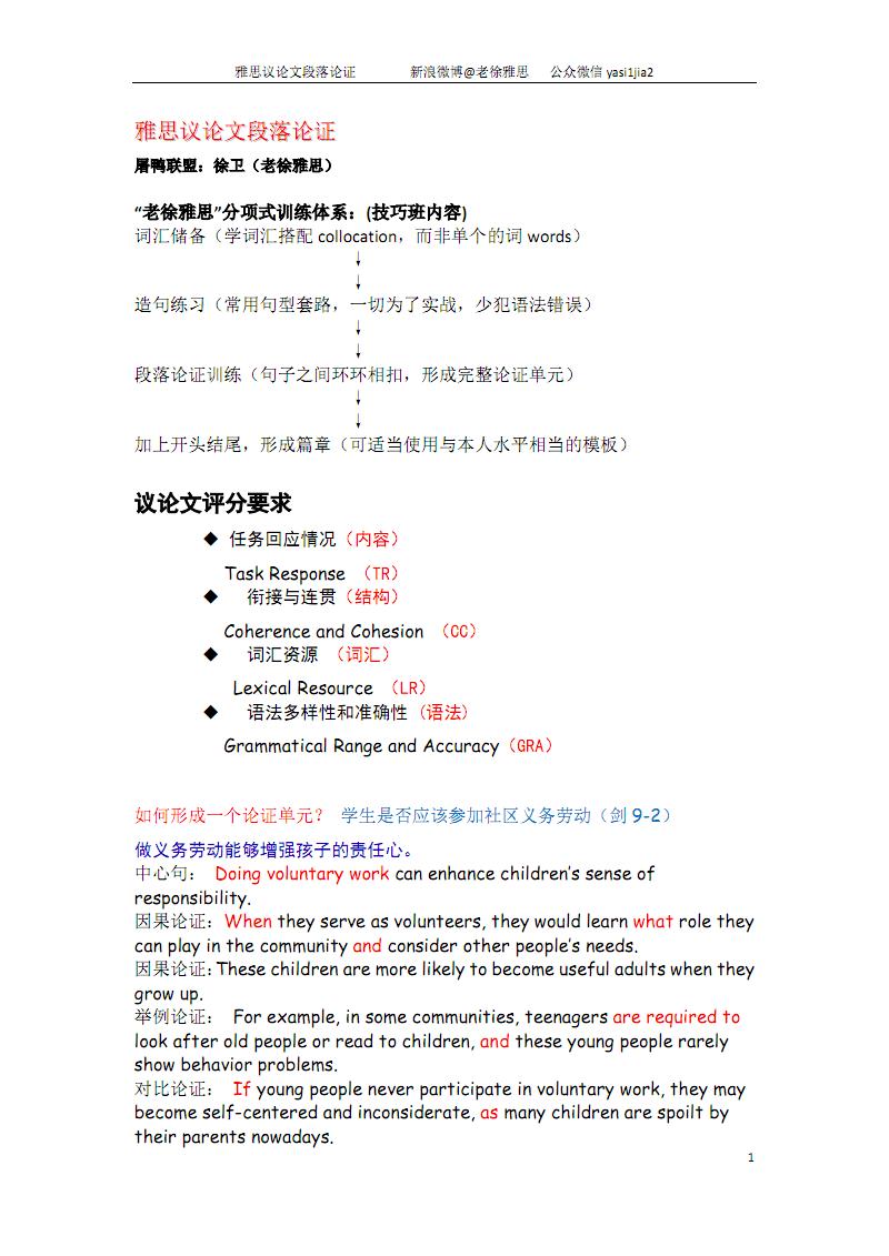 雅思写作第二次课堂笔记.pdf