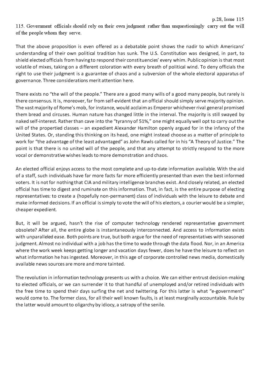 Issue115gov'swillx英语四六级雅思托福考研GRE高考GMAT大小作文宝典策略技巧范文模板.doc