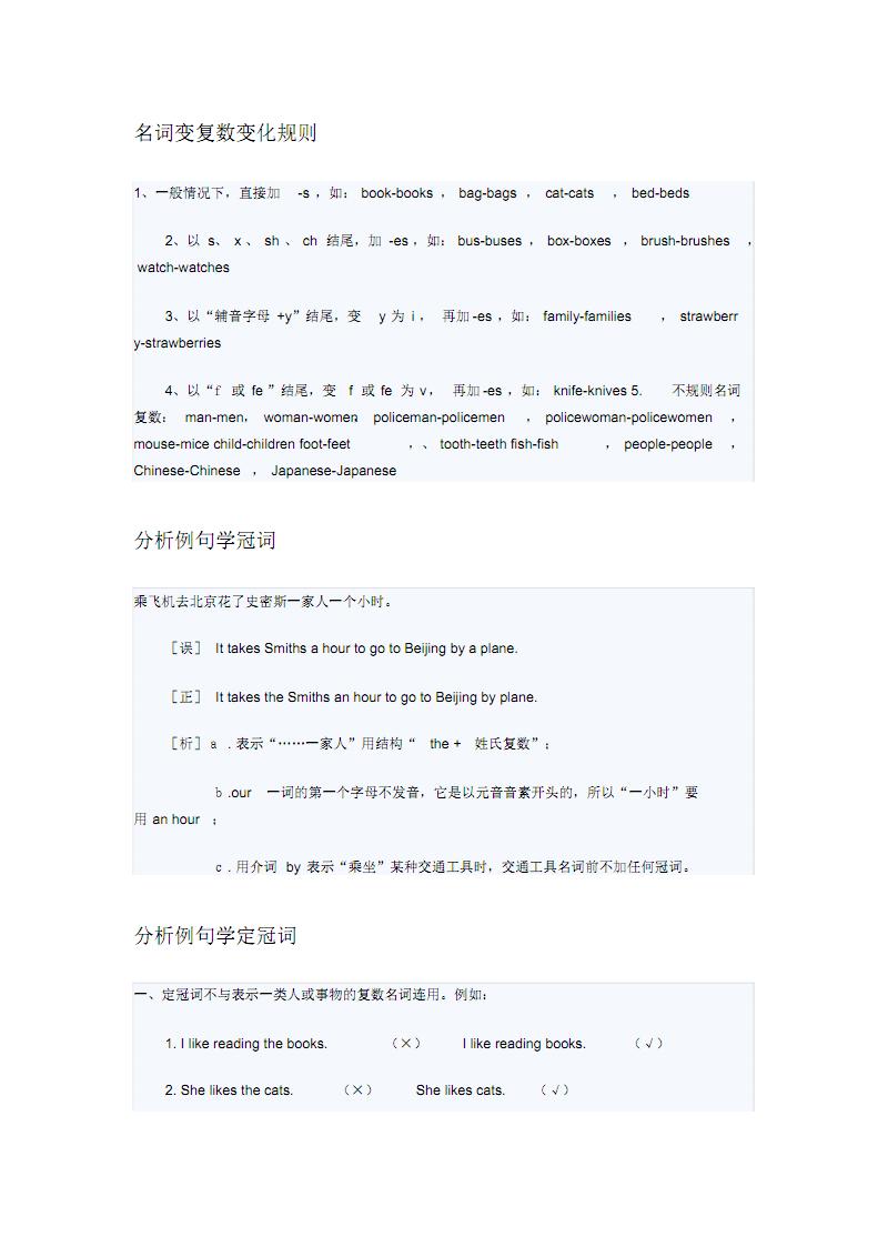 英语初级语法 .pdf