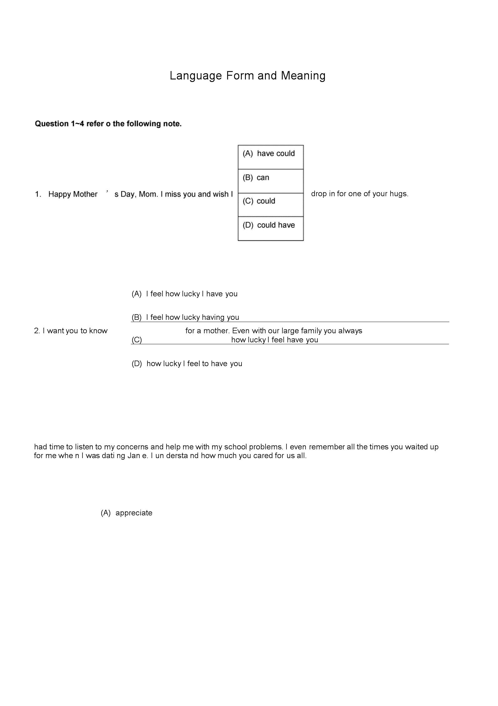 小托福语言形式与含义模拟题02汇编.docx