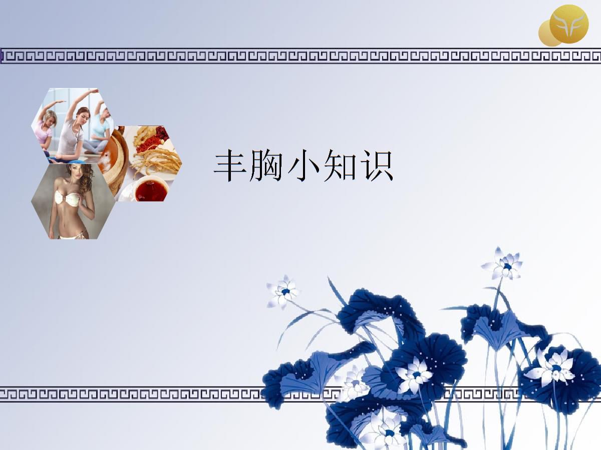 美胸小知识精品课件.ppt