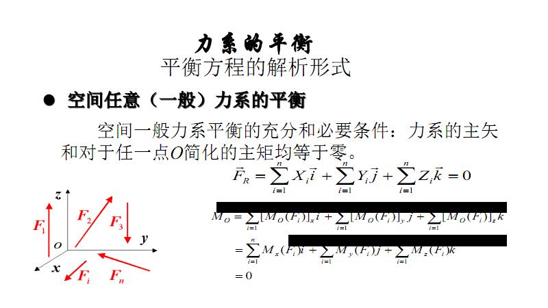 空间力系的平衡.pdf