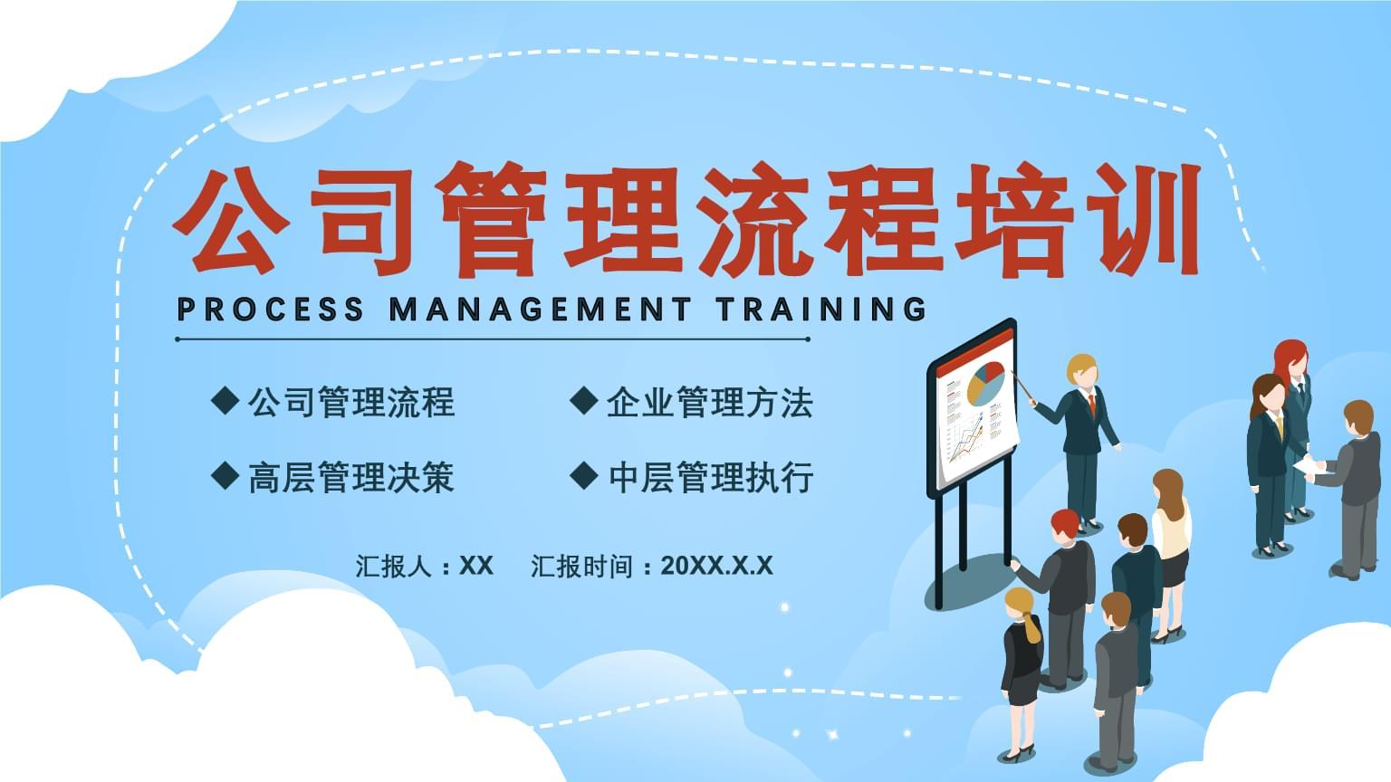 公司管理流程培训PPT模板.pptx