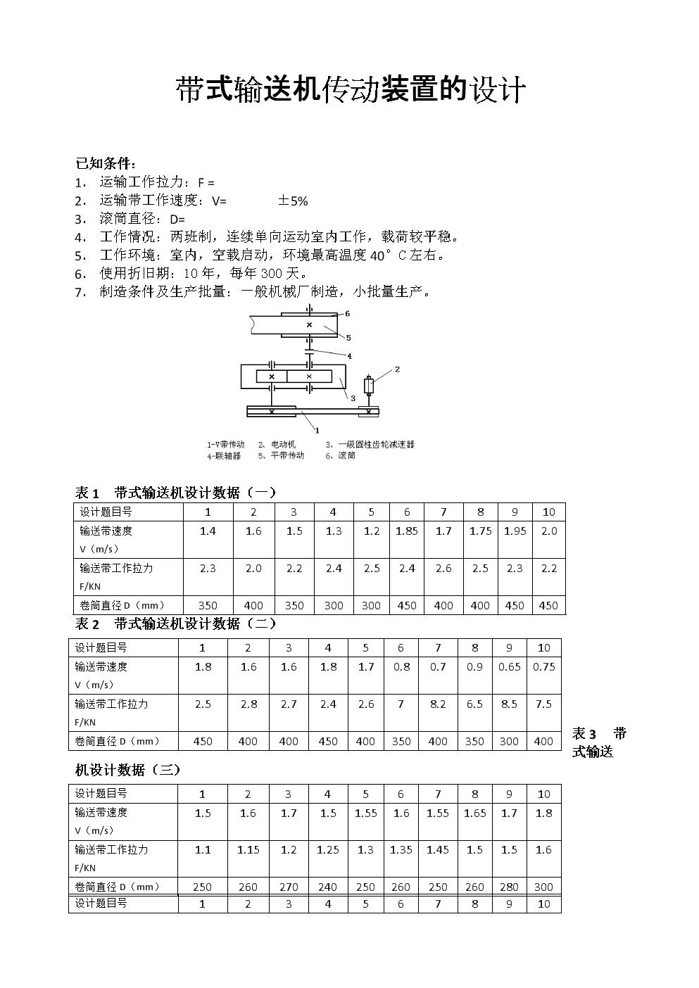 《机械设计基础》课程设计范本.doc图片
