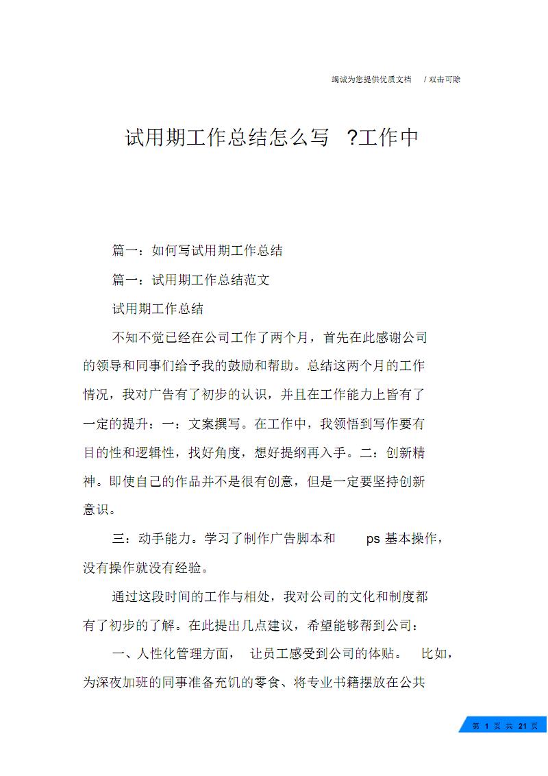 试用期工作总结怎么写-工作中.pdf