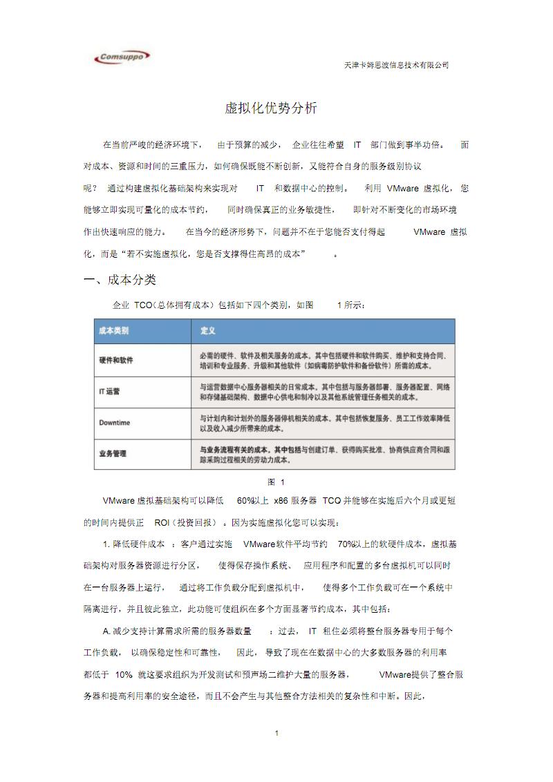 虚拟化地优势.pdf