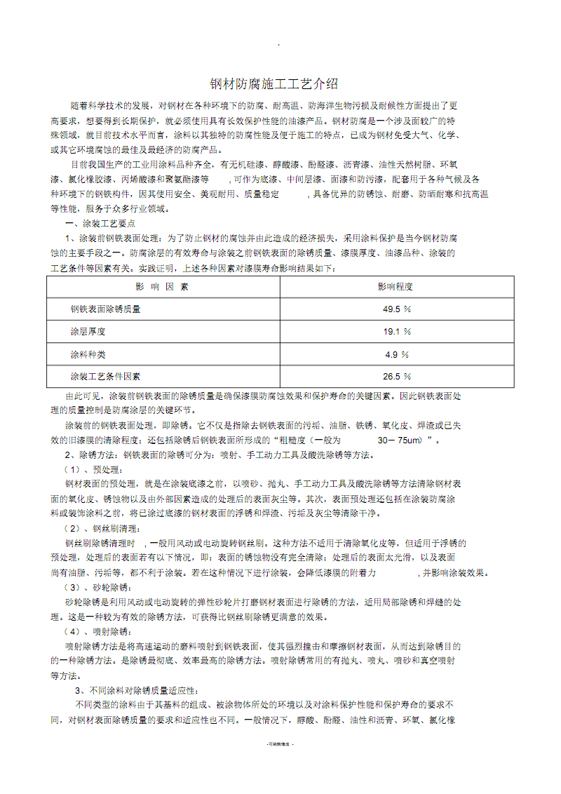 钢材防腐施工工艺介绍.pdf