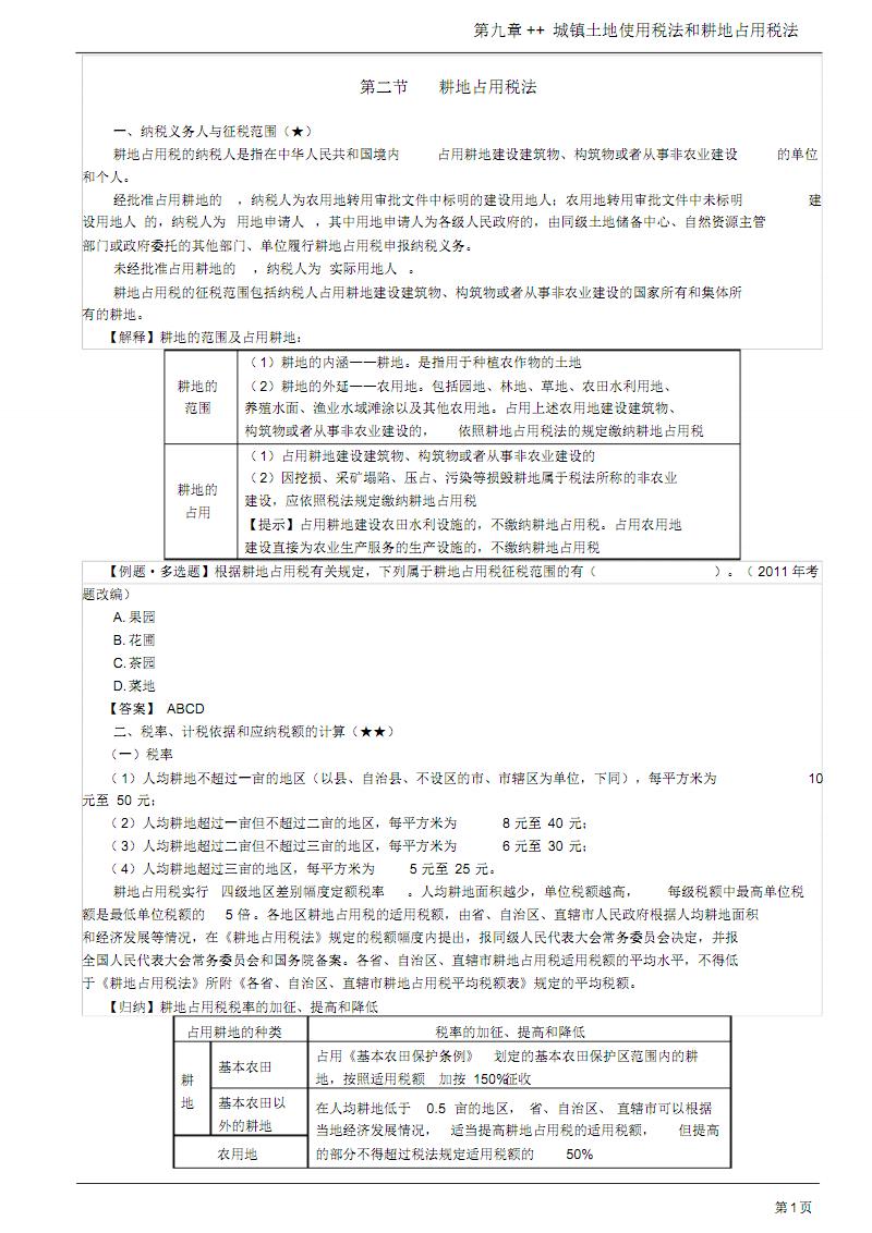 第39讲_耕地占用税法.pdf