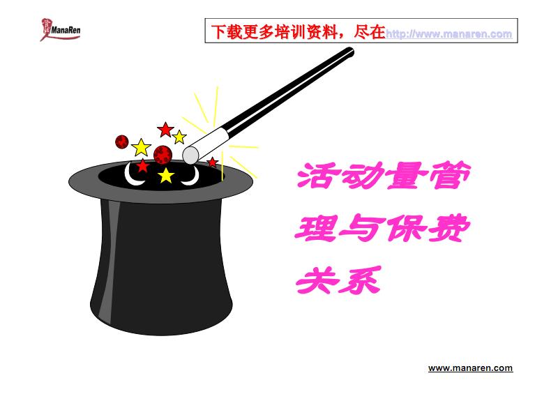 活动量管理与保费关系.pdf