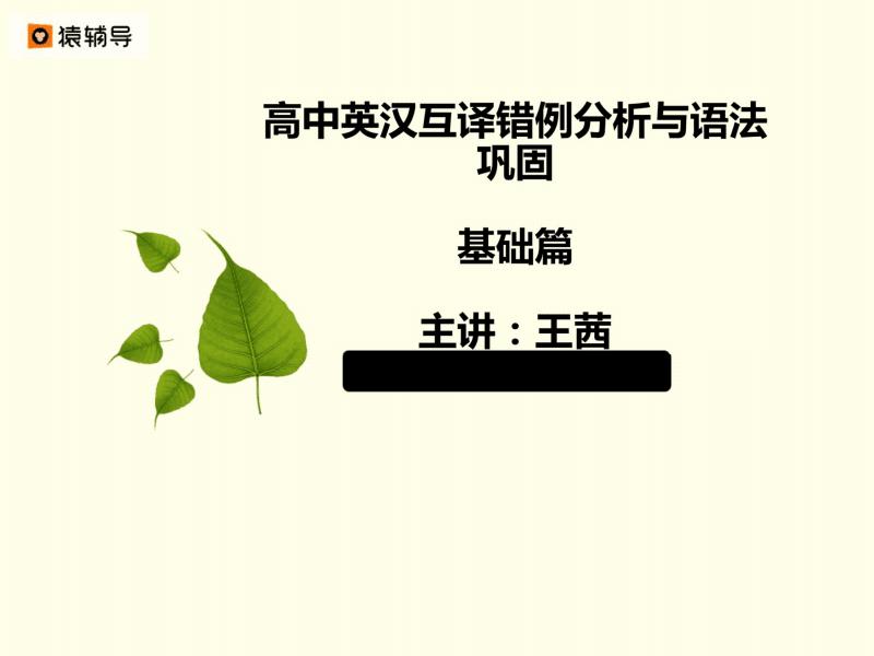 高中英汉互译错例分析 基础篇.pdf