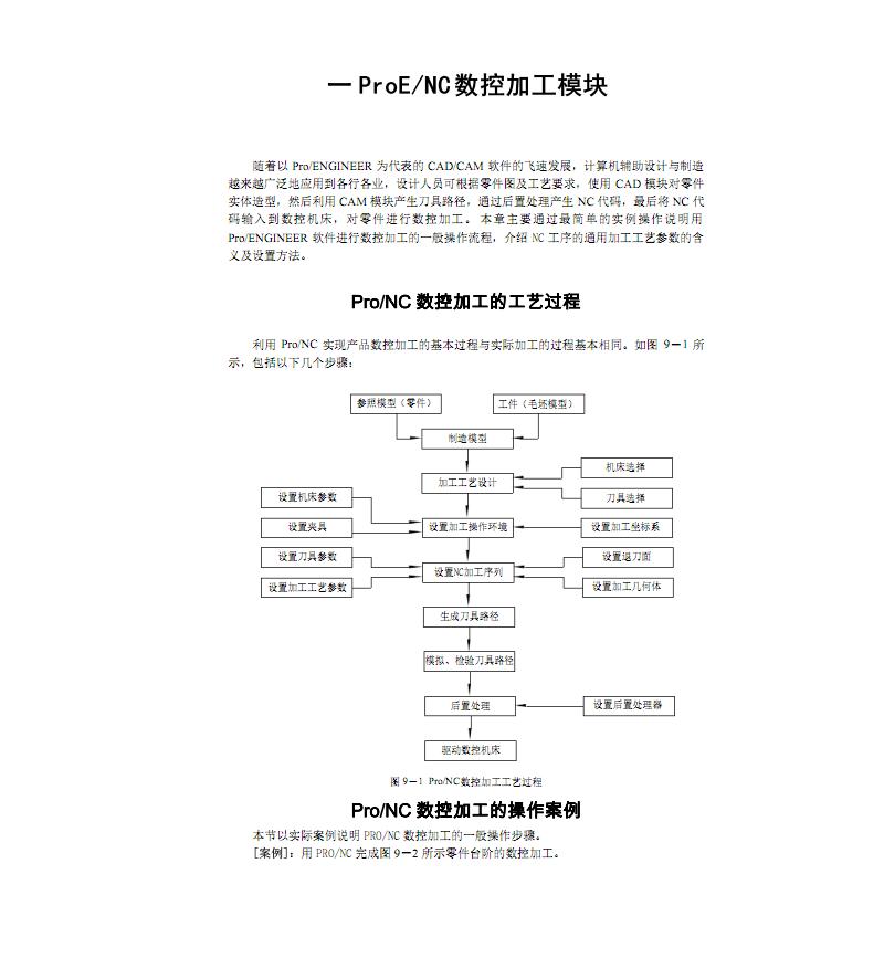 ProENC数控加工模块教程与操作步骤.pdf