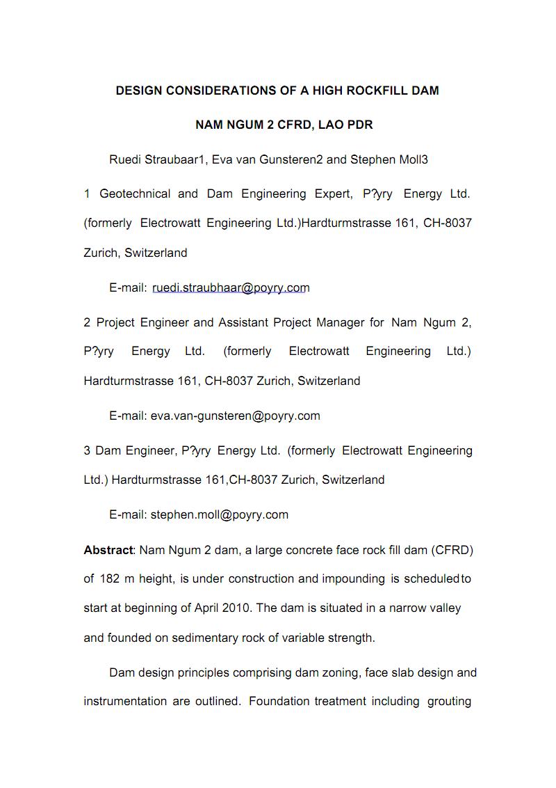 华北水利水电大学水利水电工程毕业设计外文翻译.pdf