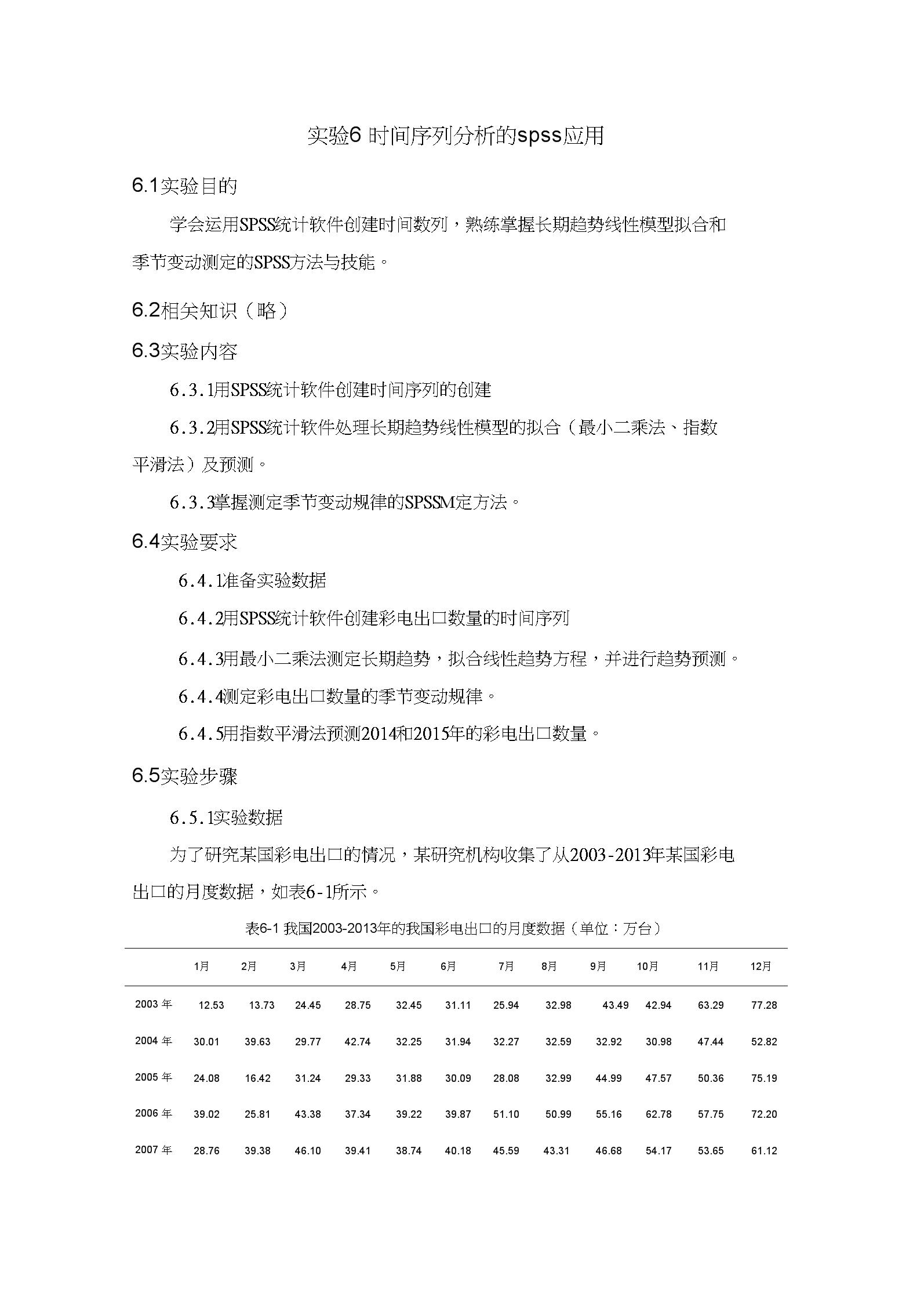 实验_6-时间序列分析的spss应用.docx