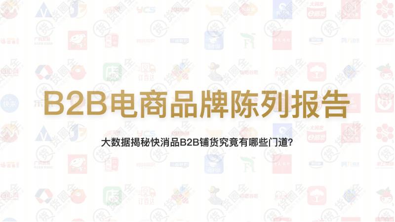 【品牌研报】B2B电商品牌陈列报告-货圈全-201908.pdf
