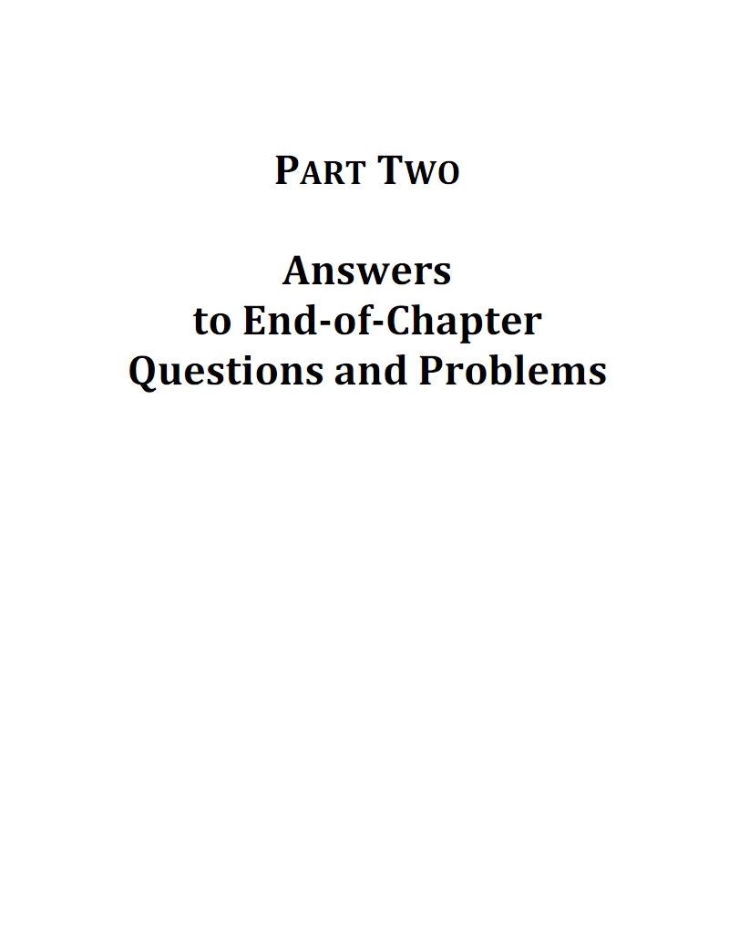 货币金融学第11版课后习题答案米什金_11版答案_mishkin_11th_solution.pdf