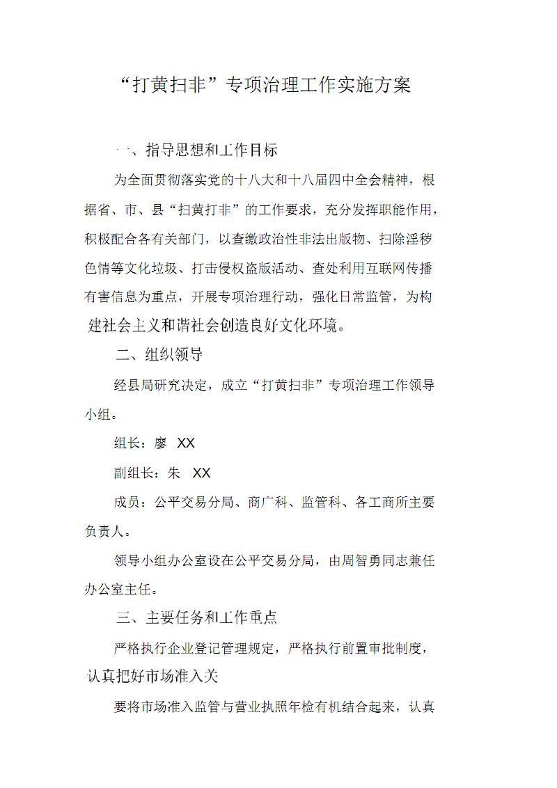 """""""打黄扫非""""专项治理工作实施方案 修订.pdf"""