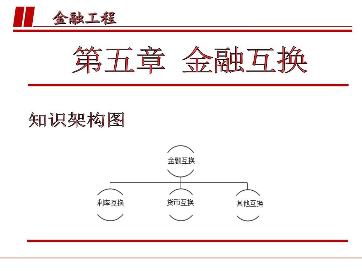 金融工程(陆珩瑱)第五章 金融互换.ppt
