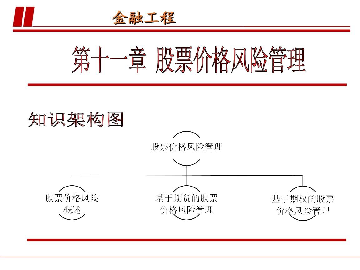 金融工程(陆珩瑱)第十一章股票价格风险管理.ppt