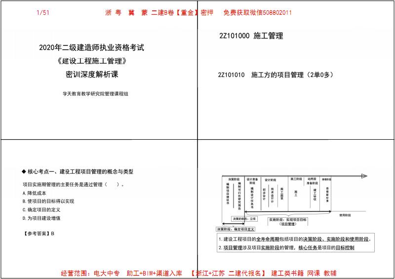 【管理-浙、粤、冀、蒙二建考生专用】2020年二建【XT】-C轮.pdf