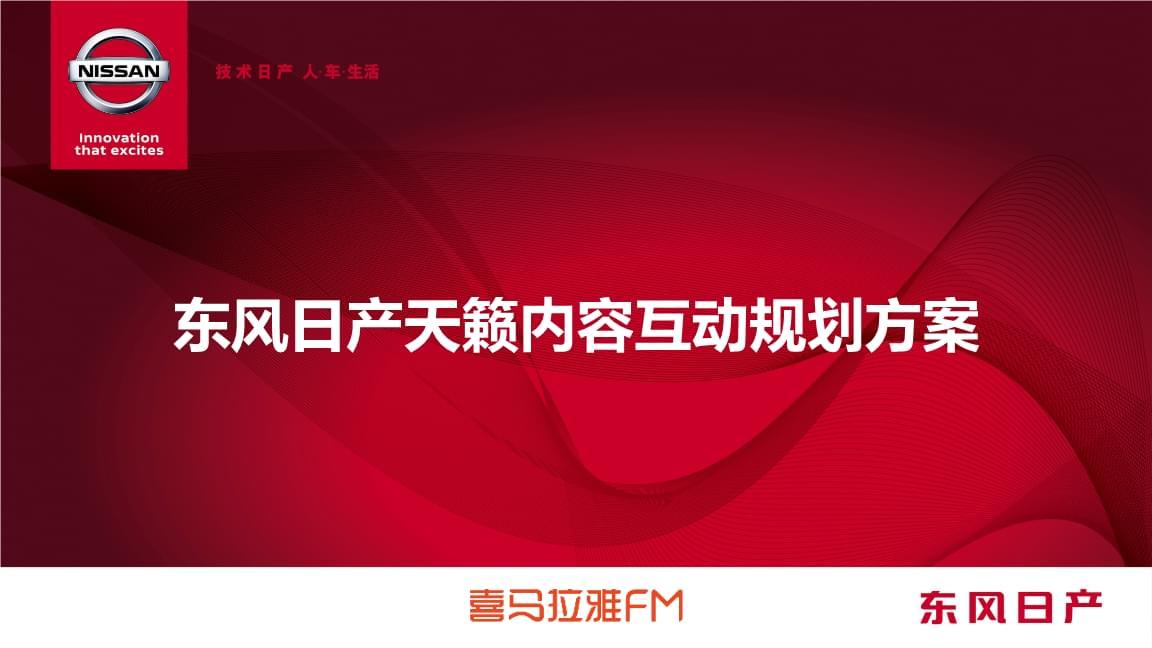 东风日产天籁内容互动规划方案(4.23,增加大咖).pptx