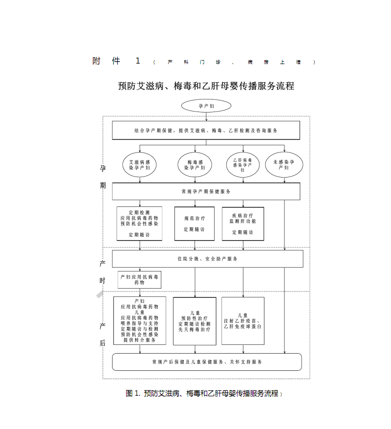艾梅乙、检测服务流程图.pdf