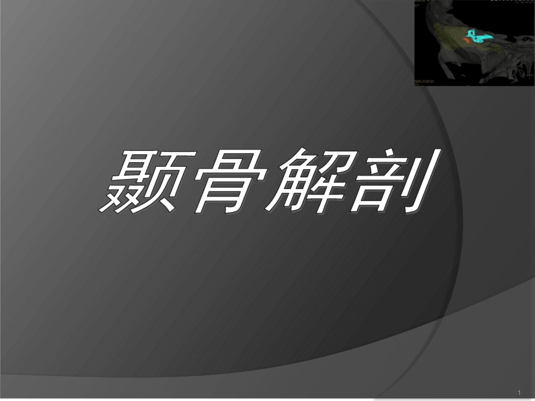 颞骨大体解剖及CT解剖参考幻灯片.ppt