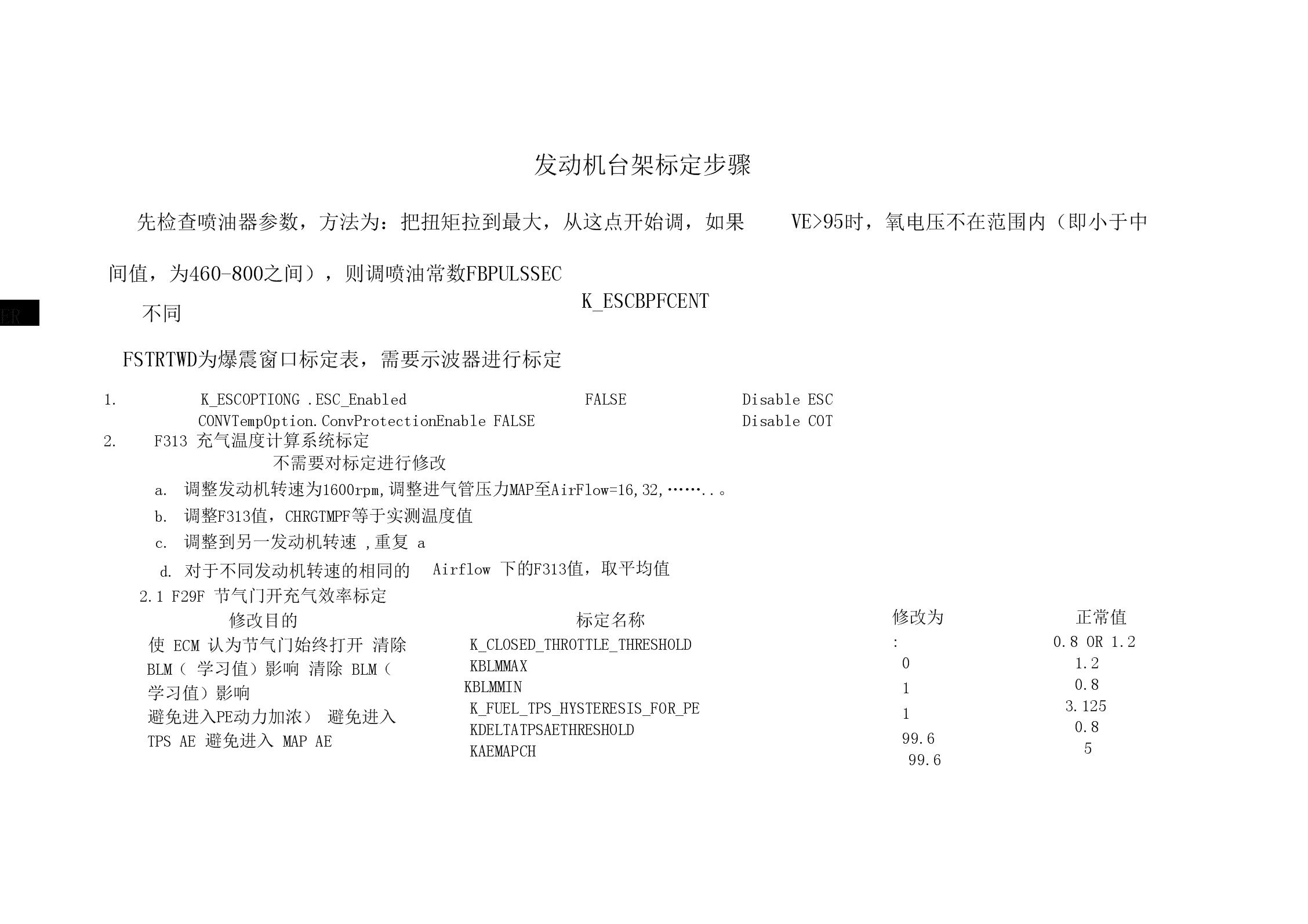 DELPHI系统台架标定方法.docx
