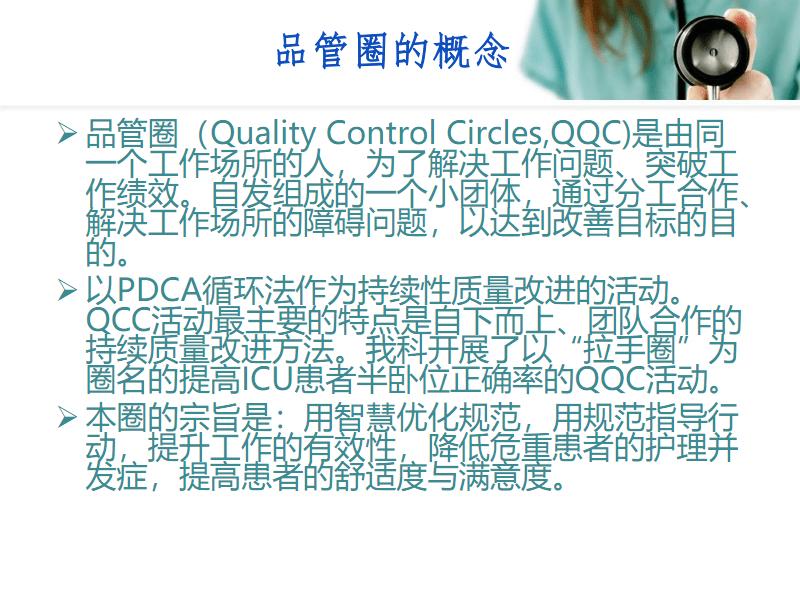 品管圈在提高ICU患者半卧位正确率中的应用.pdf