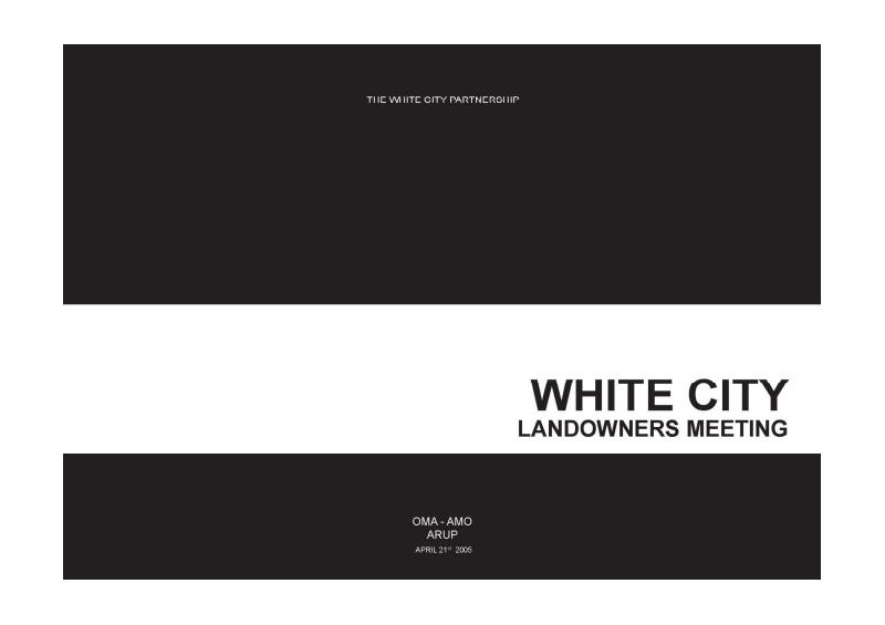 著名国外建筑设计事务所竞标方案--White City OMA AMO ARUP-whitecity01.pdf
