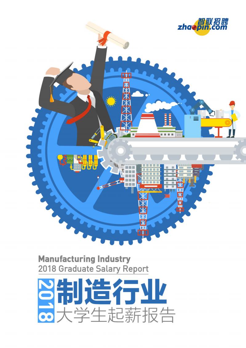 2018制造行业大学生起薪报告(薪酬).pdf
