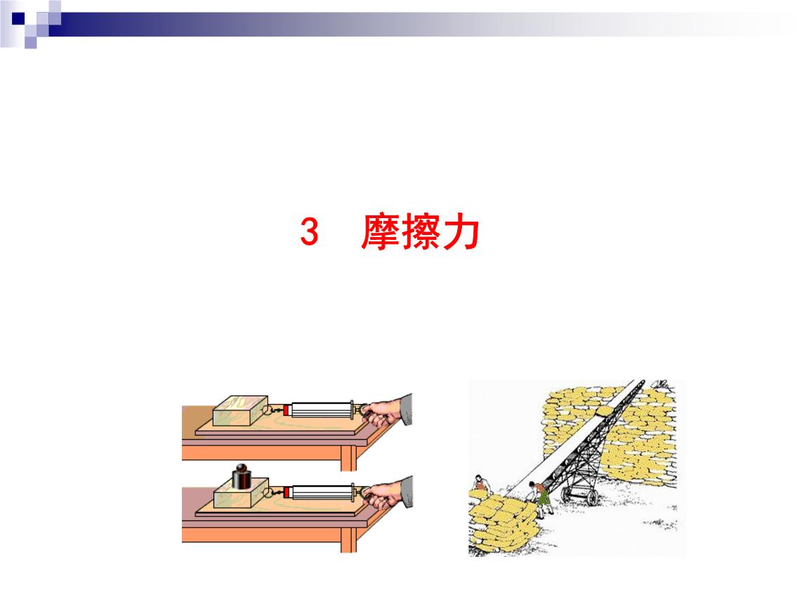 3摩擦力你还举几个生活中存在摩擦力的例子河北省2013文化课升学考试初中年毕业生图片