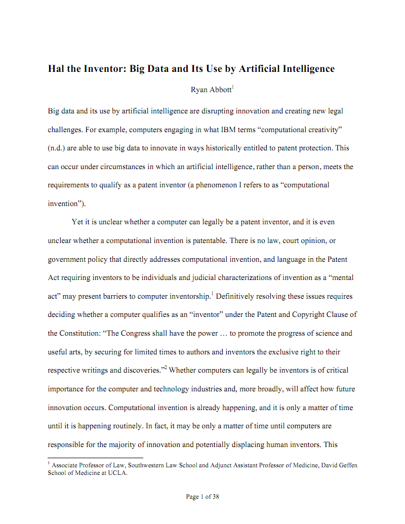 Hal the Inventor:Big Data and Its Use by Artificial Intelligence 发明者Hal:人工智能对大数据的运用.pdf