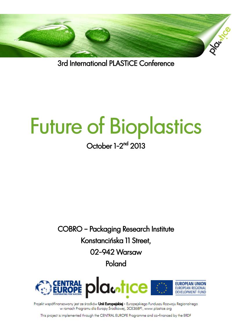 Future_of_Bioplastics生物材料市场 pdf