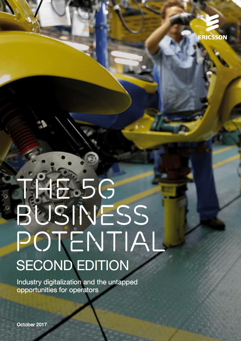 5G潜在商机报告(英文版) pdf 文档全文预览