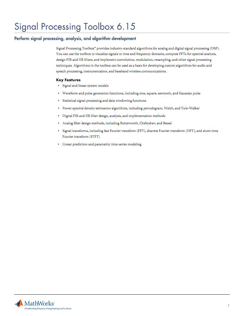 signal-processing-toolbox外文学习资料 pdf-全文可读