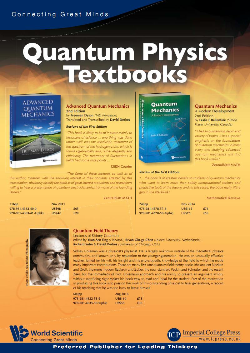 Quantum Physics Textbooks量子物理教材 pdf-全文可读