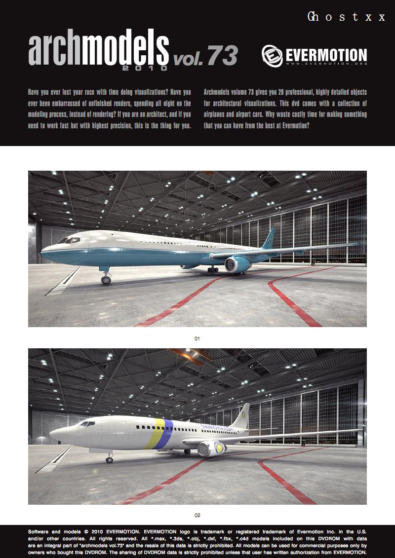 高清3D模型资料-Archmodel Vol 73(飞行器) pdf