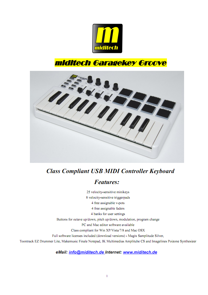 Garagekey_Groove_user_manual_english_英文电子资料 pdf